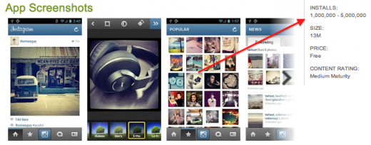 Screen Shot 2012 04 04 at 10.24.18 520x204 Instagram for Android hits 1m downloads in under 24 hours