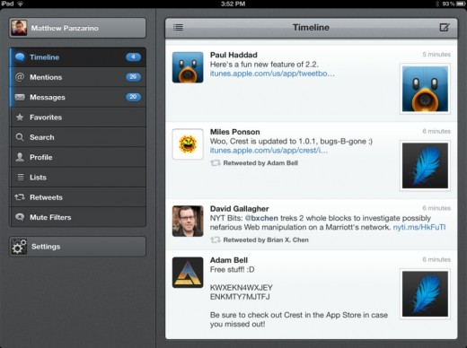 Screen Shot 2012 04 06 at 3.55.15 PM 520x388 Tweetbot updated with iCloud sync for Timelines and DMs, YouTube previews and more