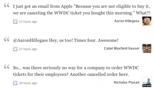 Screen Shot 2012 04 26 at 2.46.21 PM 520x298 Did Apple cancel your WWDC ticket purchase? There might still be hope