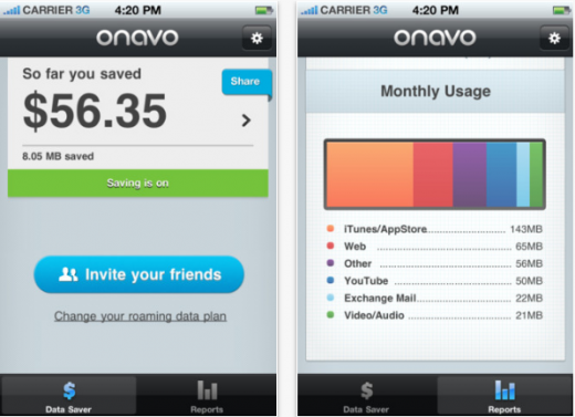 Screenshot 16 520x377 Onavo opens its data compression app to iPhone 4S on CDMA and 4G LTE iPads