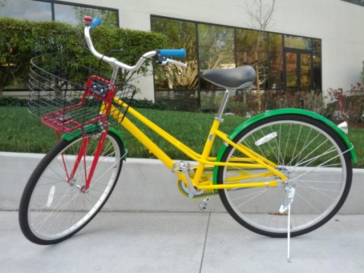 Winning GBike 610x458 520x390 Google updates its campus GBikes, will provide 1,000 for employees at its headquarters