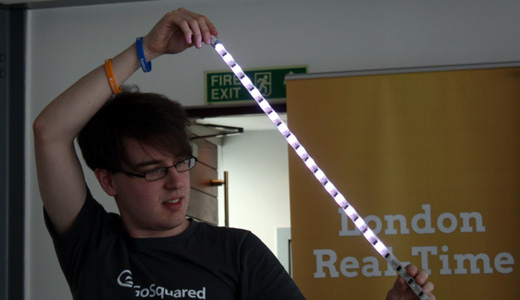 arduino London Real time hack event ends with exhausted and innovative winners