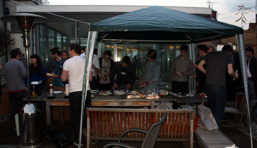 bbq London Real time hack weekend gets going to inspire new projects on the fly