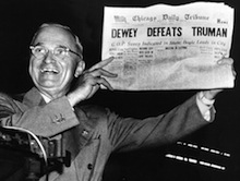 dewey defeats truman On fairness, accuracy and why media has a responsibility to companies