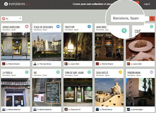 ever Everplaces, the real world Pinterest, debuts social discovery to serve users insider recommendations