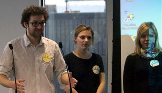 pitchnewcastle Winners of the first Startup Weekend event in the north of England announced