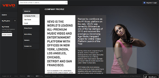 vevo Vevos UK launch boosts traffic 23%, with 177m additional monthly streams