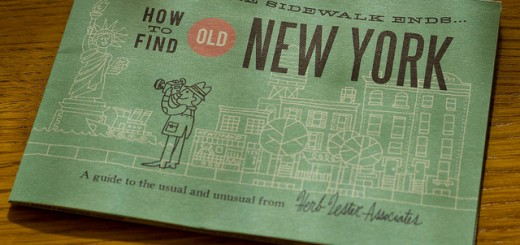 Herb Lester Maps: How to Find the Old New York