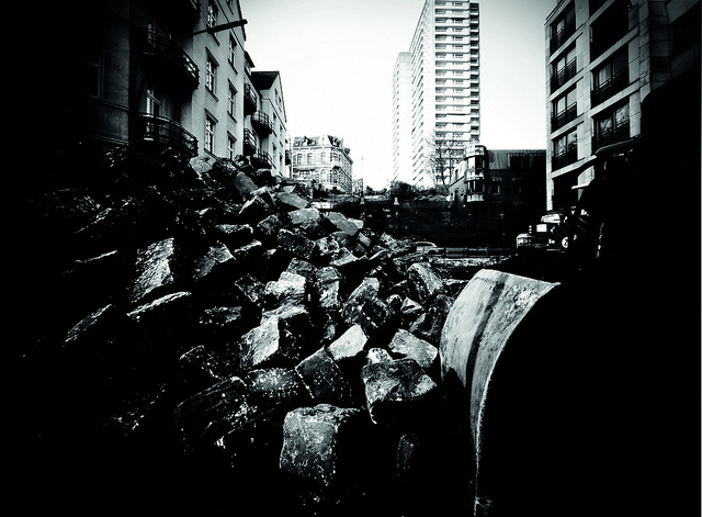 7060330033 9599f1cdee z These garbagemen turned dumpsters into giant pinhole cameras to capture the city they see