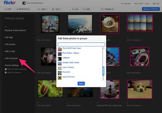 7262575474 8036deb870 z 520x363 Flickr adds much needed features for Groups: upload options, Justified View and more
