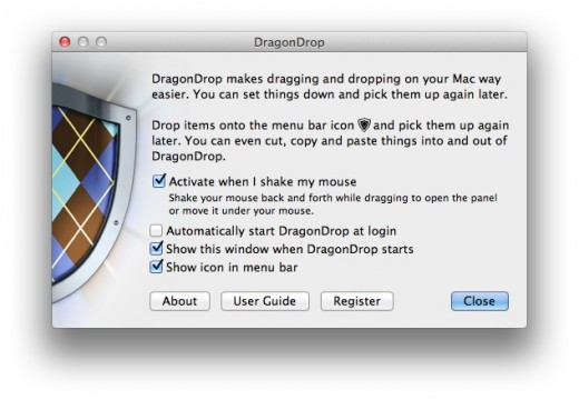 DragonDrop Settings 520x360 DragonDrop takes the hassle out of moving files and images on your Mac