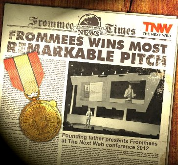 Frommees wins most remarkable pitch award Frommees: This startup creates physical keepsakes for digital content