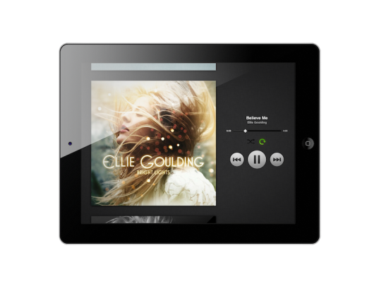 Now Playing with frame 520x416 The wait is finally over: Spotify finally launches its new iPad app