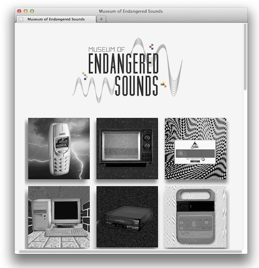 Screen Shot 2012 05 29 at 4.51.07 PM This site is archiving the electronic sounds of the past, and its awesome