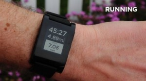 SmartWatch Kickstarter record holder Pebble nabs RunKeeper as its first smartwatch app partner