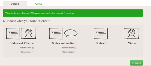 b1 520x229 Present.me is SlideShare meets YouTube, for creating on demand online presentations