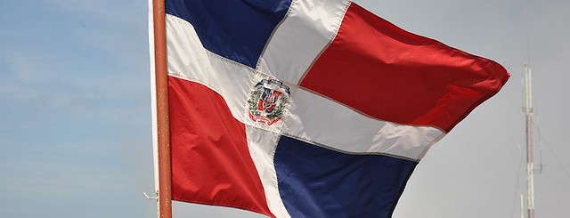 dominican flag by magnera