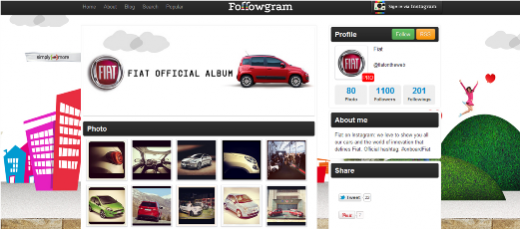 followgram 520x229 Snap! 10 stunning ways to enjoy Instagram on the web