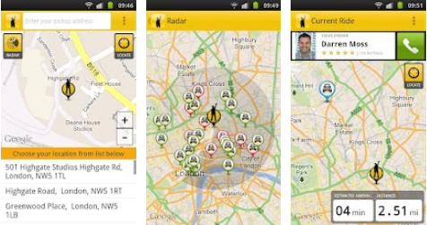 gttaxi1 GetTaxi v2.0 hits Android to let you give location by closest landmark & view taxis in your area