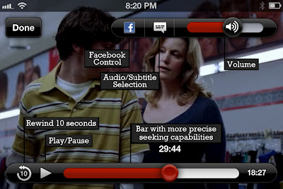 Netflix iOS app update adds new video player, controls, Facebook sharing toggle and more