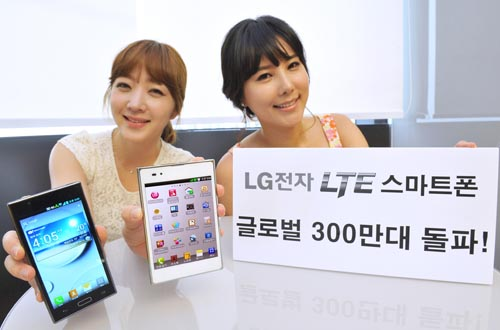 lg lte 3m LG claims 3m LTE smartphone sales, plans to double its international focus