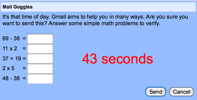 mail goggles Gmail automatic message translation comes out of Labs, Mail Goggles not so lucky