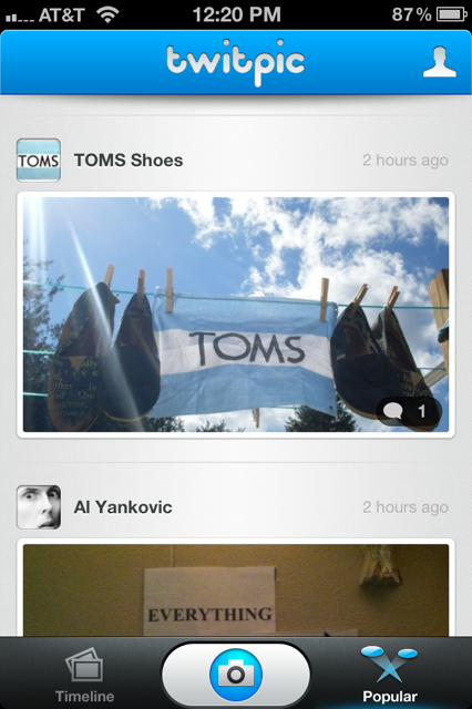 photo 2 2 Twitpic releases its own iPhone app complete with filters