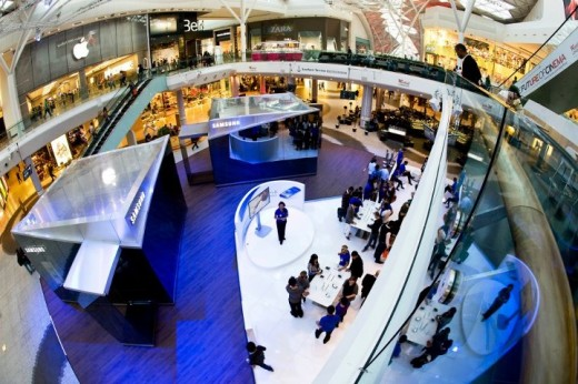 pin2 520x346 Samsung is introducing pop up stores in London for a slice of that Olympic money