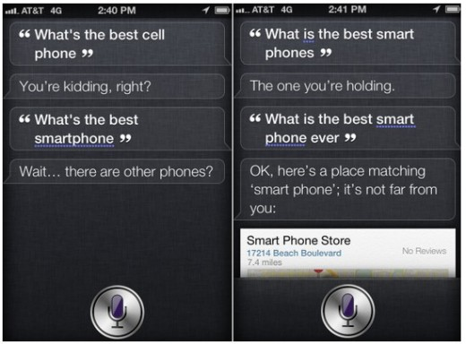 siri 520x384 Nokia accuses Apple of overriding Siri to remove Lumia 900 endorsement [Updated]
