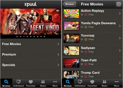 spuul app1 horz 520x372 Streaming service Spuul brings Bollywood to the iPhone and iPad with new iOS app