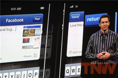 Apple announces deep Facebook integration with iOS 6, including single sign on, sharing movies and TV shows