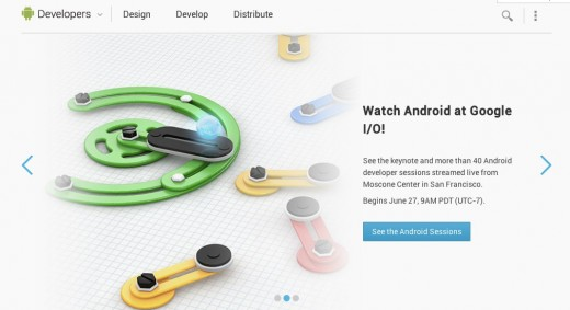 Convo 71 520x283 Google redesigns its Android Developers site as part of ramp up to I/O