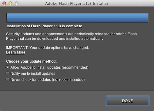 Flash Silent Updater on Mac Adobe updates Flash with 7 security patches, silent updates for OS X and a sandboxed Firefox plug in
