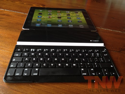 IMG 3131wtmk 520x390 TNW Review: Logitech Ultrathin Keyboard Cover for iPad
