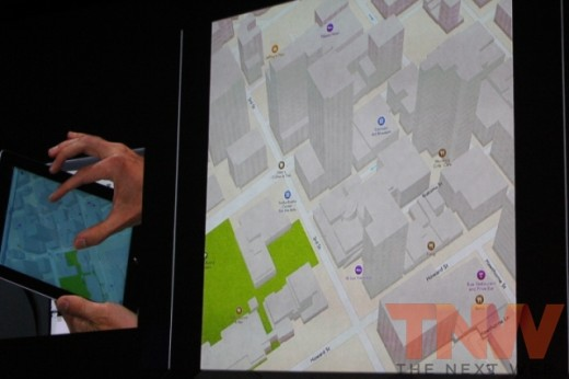 Image 2 520x346 Apple launches new 3D Maps; adds Yelp reviews, turn by turn directions and anonymous traffic updates