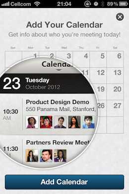 LinkedInFeature LinkedIns iOS app collects and transmits names, emails and notes from your calendar, in plain text
