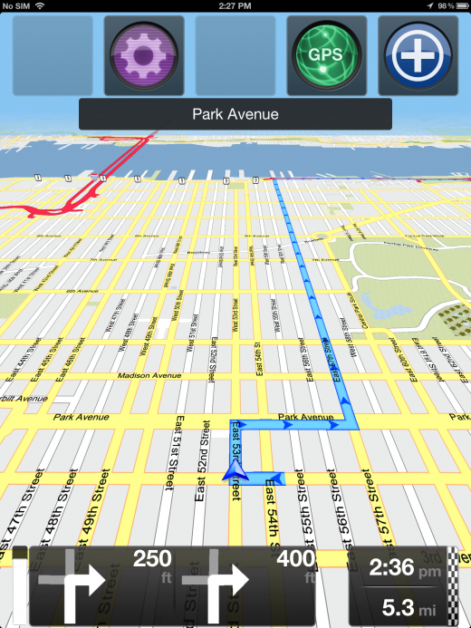 NYC navigation 520x693 Skobblers GeOS platform makes OpenStreetMap data way more accessible for developers