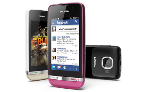 Nokia Asha 311 465 Nokia launches Asha 305, Asha 306 and Asha 311, its first full touch Series 40 handsets