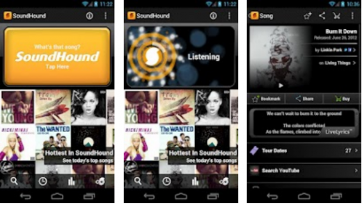 Screenshot 13 520x295 Shazam competitor SoundHound passes 80m users and rolls out updated mobile apps