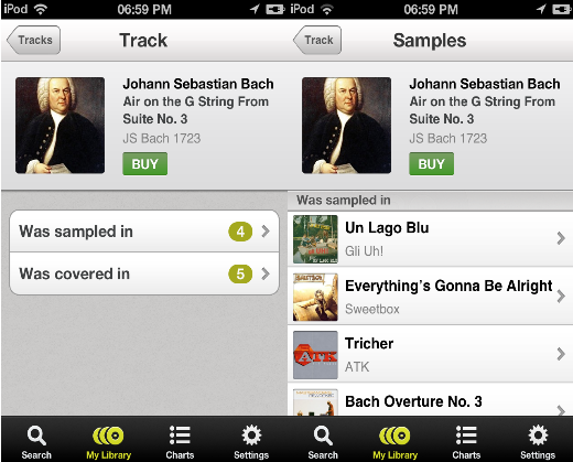 b12 WhoSampled launches iOS app to let you discover remixes and covers of your favorite tunes