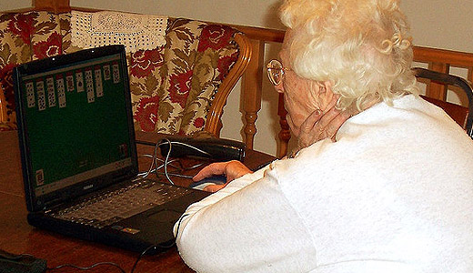 computing 520 Make room for your grandparents. The Silver Surfer population is growing according to latest research