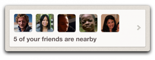 friendsnearby 520x203 The All New Foursquare is coming on Thursday