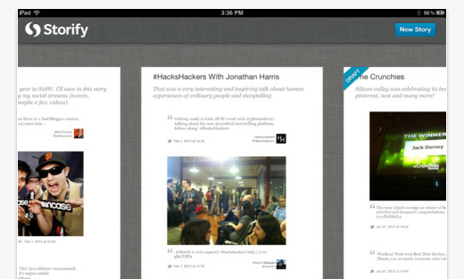 ipad storify The best iPad apps of 2012 so far
