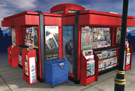 lekioskuk520 Read all about it, Lekiosk launches its beautiful newsstand in the UK