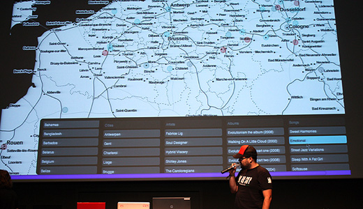 musicmap Music Hackday at Sónar provides the link between technology and top tracks
