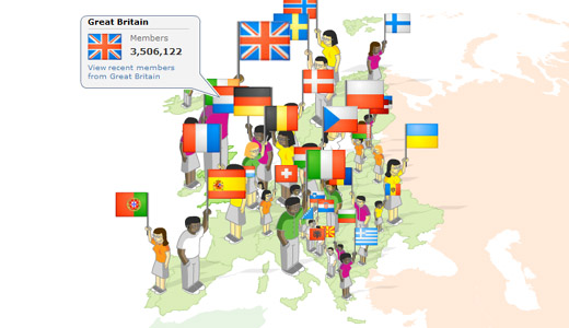 myheritagemap MyHeritage hits 1 billion profiles and announces new features for historical research