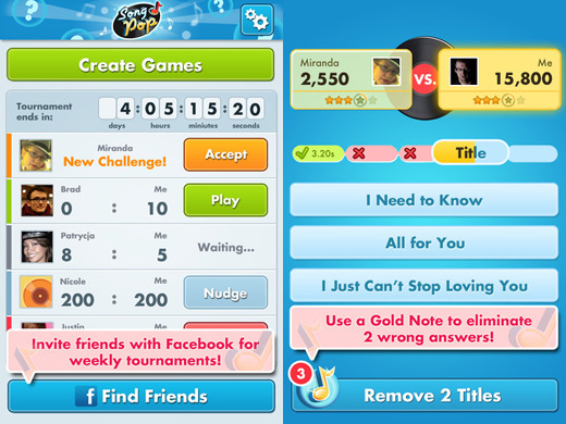 songpop520 Song Pop gets the official Zuckerberg endorsement, but can it avoid Draw Somethings fate?