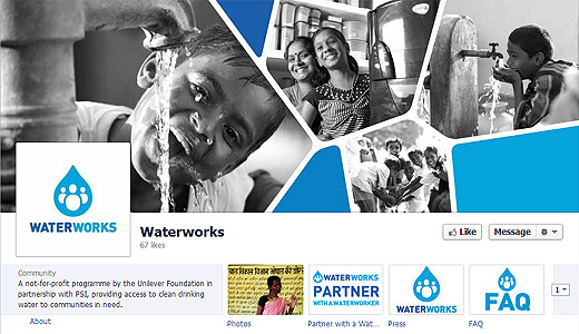 unilever Unilever Foundation launches Facebook app for clean water charity giving