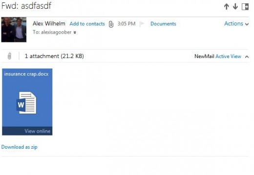 2012 07 30 16h58 19 520x359 Microsoft launches Outlook.com, a clean, fresh take on webmail that puts it back in the game