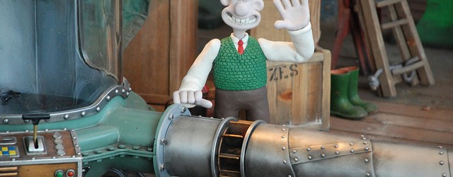 Aardman Wallace and Gromit Cracking Ideas Exhibit